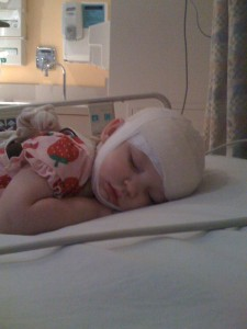 Zoe In The Hospital Getting An EEG