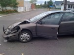 What Was Left Of My Car After I ran Into The Suburban
