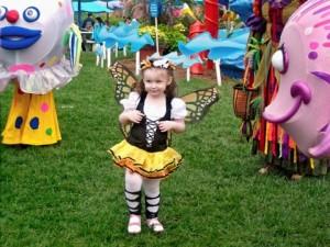 Zoe's Butterfly Halloween Costume